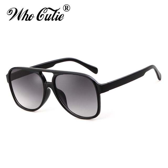 53185b26bf6 Who Cutie 2019 Oversized Pilot Sunglasses Women Brand Design Tortoiseshell Frame  Fashion Aviation Sun Glasses Shades