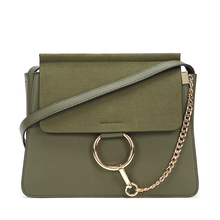 Luxury Handbags Women Bags Designer Chain Suede Bag Messenger Vintage Crossbody Metal ring Frosted leather Sac femme