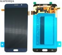 Super amoled display lcd para samsung galaxy note 5 n920 n920c n920v n920f n9200 display lcd de toque digitador da tela montagem|LCDs de celular| |  -