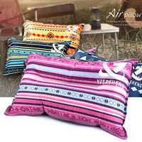 Portable Automatic Inflatable Pillow Air Cushion for Outdoor Pillow Soft Comfortable Pillow for Tent Sleep Home Textile