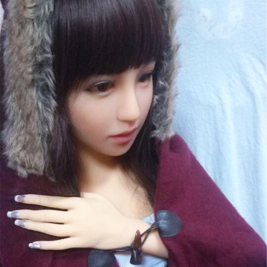 158cm lifelike full silicone realistic vagina pussy japanese girl sex dolls with teeth sex doll 4