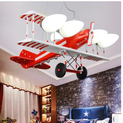 American retro machine Pendant Lights children bedroom lamp boy room cartoon light creative led Pendant lamps TA9215 hghomeart kids led pendant lights basketball academy lights cartoon children s room bedroom lamps lighting