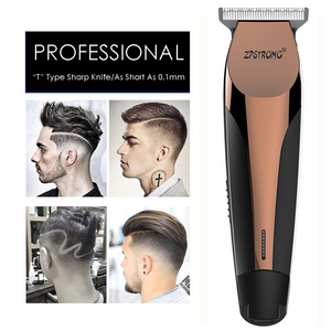 Image 1 - 100 240 220v プロフェッショナル精密バリカン電動ヘアトリマーひげシェービング機 0.1 ミリメートルカッター男性理髪散髪ツール