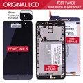 100% testado original 1280x720 display lcd de toque digitador da tela de lcd para asus zenfone 6 montagem a600cg a601cg t00g