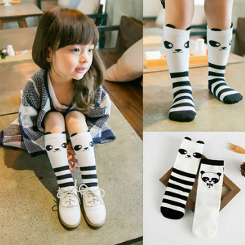 Socks panda baby girl boy