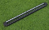 24 Ports Unloaded Keystone Patch Panel Cable Faceplate 16port Patch Panel