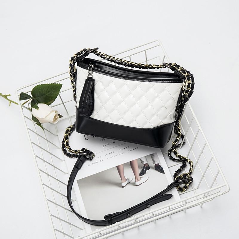 2017 Hot Women Pu Leather Bag Fashion Pattern Ladies Clutch Chain Shoulder Crossbody luxury handbags women bags designer