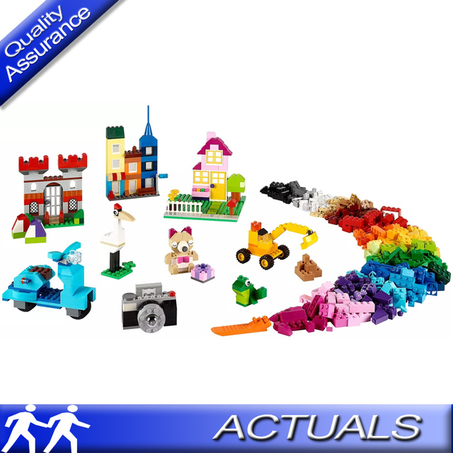 44588885b6cb 885pcs Lepin 42002 Compatible with Lego 10698 Classic Large Creative Brick  Box Building Blocks DIY Creative