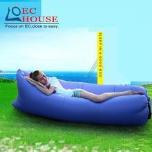 Outdoor travel pocket sofa portable rushes lazy air cushion bed siesta FREE SHIPPING