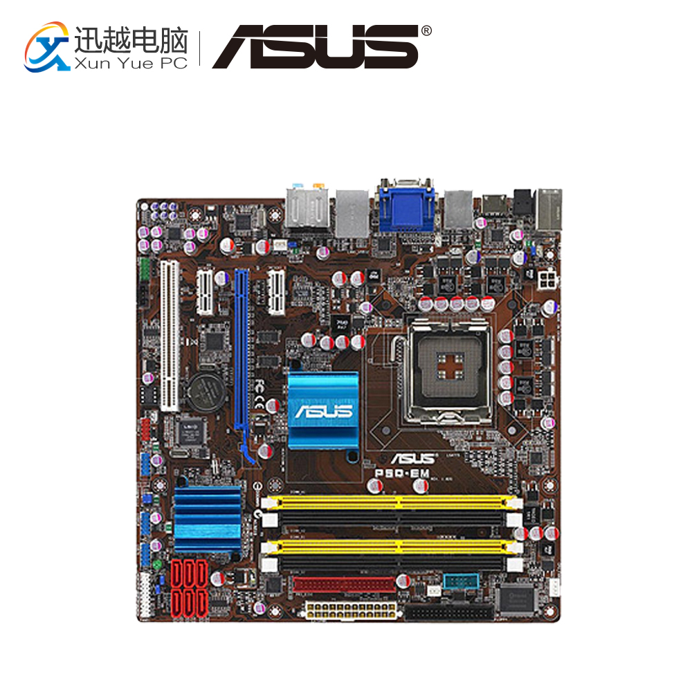 Asus P5Q-EM Desktop Motherboard G45 Socket LGA 775 DDR2 16G SATA2 USB2.0 uATX 1 roll 10m clear nail double side nail adhesive tape strips tips transparent manicure nail art tool
