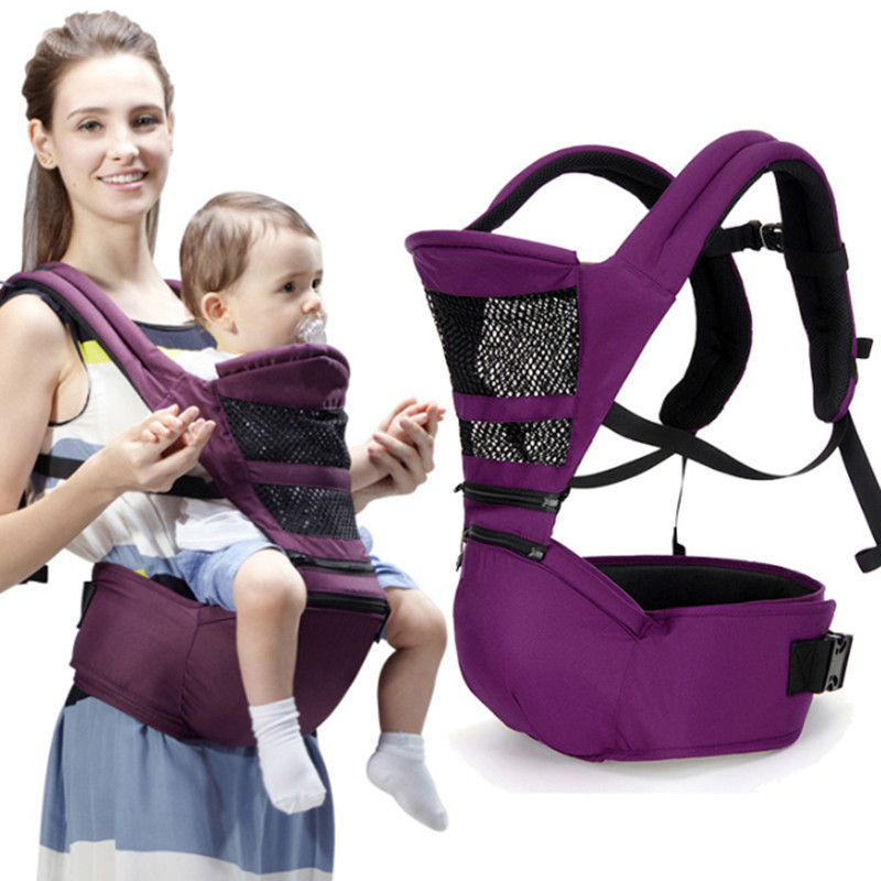 New Fashion Arrival Breathable Baby Wrap Ergonomic Foldable Hip Seat Multifunctional Baby Carrier Newborns For Everyone