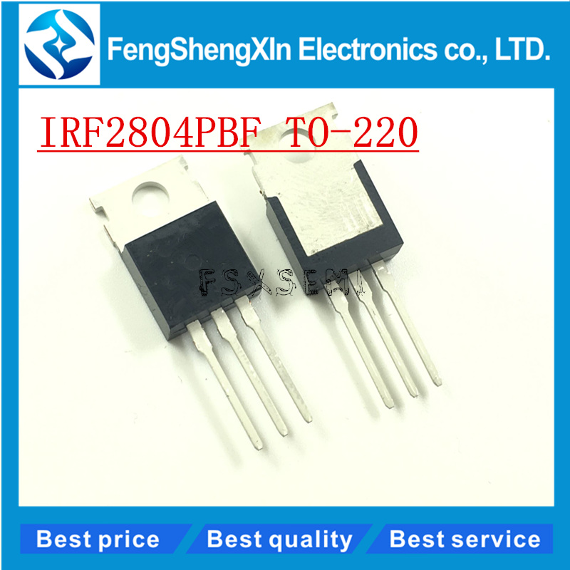 10pcs/lot NEW IRF2804 IRF2804PBF N-channel field effect TO-220