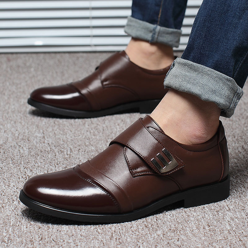2017 Fashion business soft summer men driving business shoes men Sapato social men casua ...