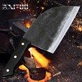 XITUO ручной работы  нож шеф-повара  кованый стальной Кливер  нарезка  кухонные ножи  китайские кухонные инструменты  китайский измельчитель  н...