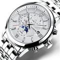 Zwitserland Nesun Horloge Mannen Luxe Merk Automatische Mechanische Mannen Horloges Saffier relogio masculino Lichtgevende Waterdichte N9027-6