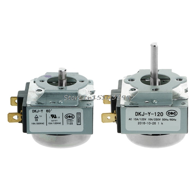 DKJ-Y 60/120 Minutes Delay Timer Switch 15A For Electronic Microwave Oven Cooker G08 Drop ship