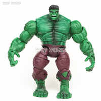 18 CM Avengers Hulk rysunek Incredible Hulk model kolekcjonerski Bruce Banner zabawki, stawów i przeniósł się Brinquedos dzieci prezent
