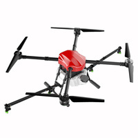 2018 New 4 axis Spray Agriculture drone w/ 10KG/10L spraying pump system 1300mm Wheelbase Waterproof body Folding UAV Quadcopter