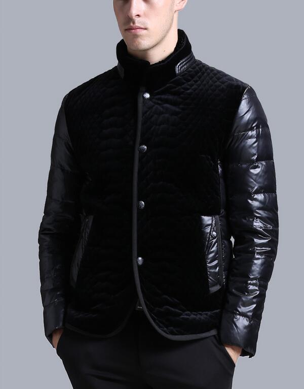 Paragraphe Sa Bas Moralité Taille Hommes Col Mode 2019 Nouvelle Bref Manteau Noir 3xl Vêtements M D'hiver Chaude Cultiver nxqw7F10X