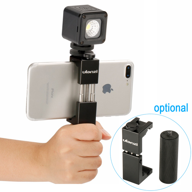 Ulanzi L1 Waterproof Dimmable LED Video Light on Camera ,Adventure Lighting for DJI Yuneec Drones DJI Osmo Pocket DSLRs Gopro