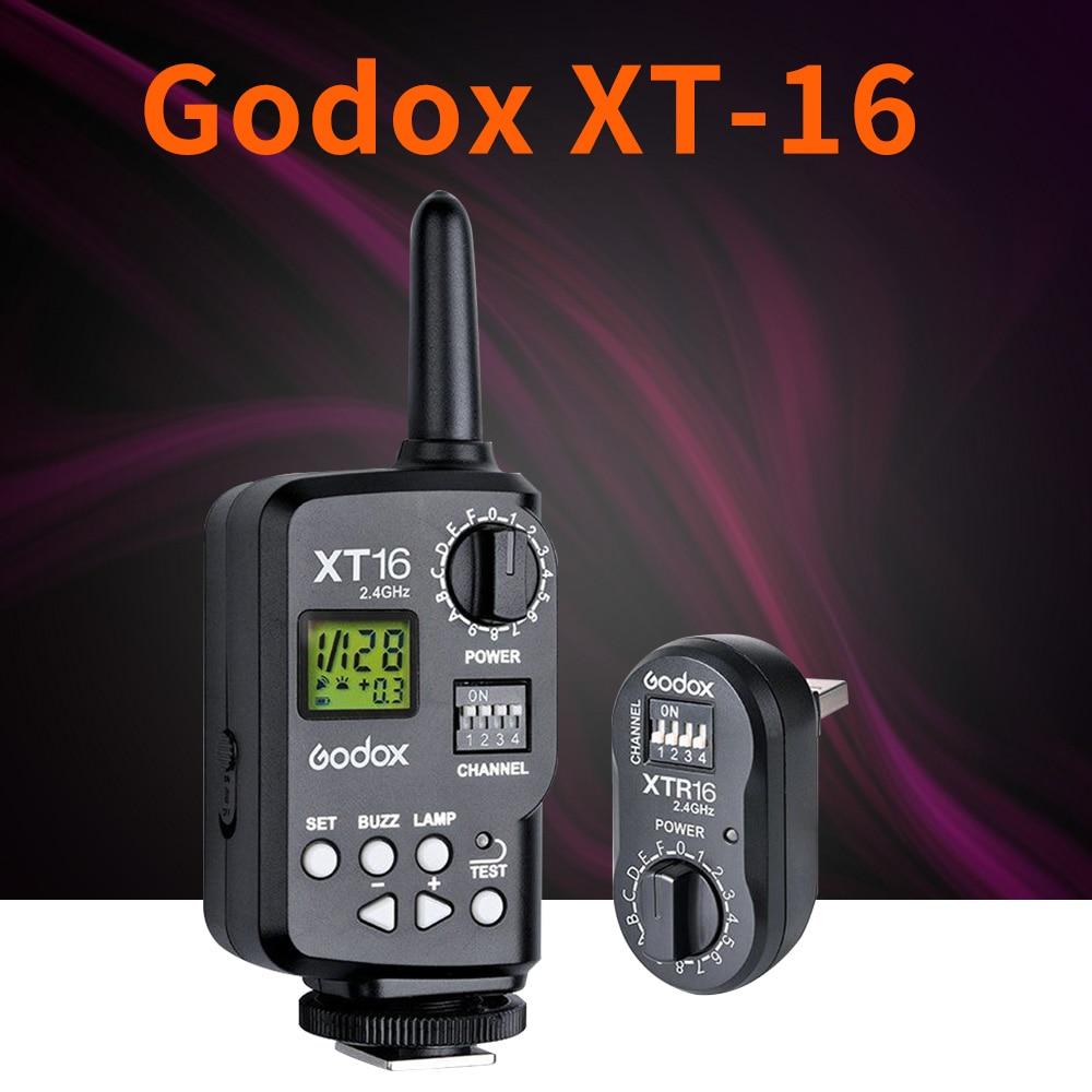 Godox XT 16/XT 16S 2.4G Wireless Strobe Flash Trigger XTR16/XTR16S for TTL wireless trigger Transmitter X1C X1N to trigger flash-in Shutter Release from Consumer Electronics    1