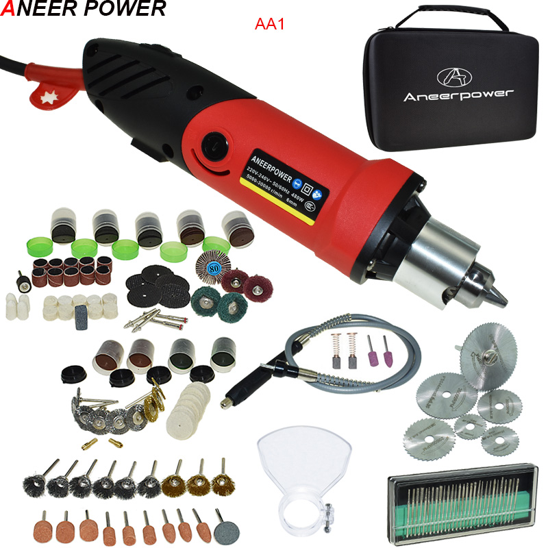 Adjustable 6 Speed 5000 30000r min Engraver Dremel Electric Drill Pen Grinder Carving Electric Rotary Tool