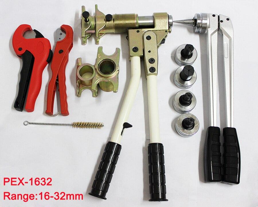 Free ship 3pcs Pipe Clamping Tool Fitting tool PEX-1632 Range 16-32mm used for REHAU Fittings well received Rehau Plumbing Tool цена 2017