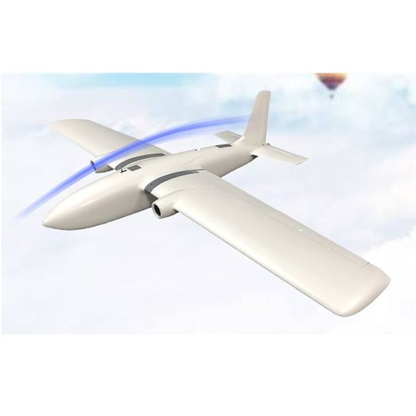 Kit de cadre de plan FPV MFD Crosswind Nimbus Pro V2 1900mm