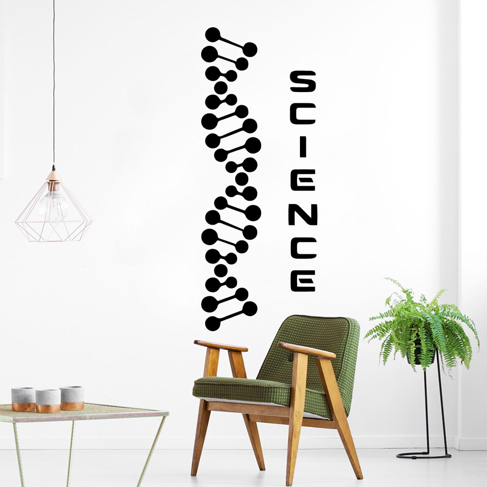 Fashionable science Removable Pvc Wall Stickers For Kids Rooms Nursery Room Decor Removable Decor Wall Decals in Wall Stickers from Home Garden