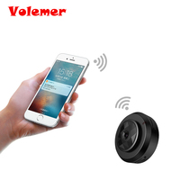 Volemer New Small WIFI Mini Camera For Camcorder HD DVR Cam Security With Black Color H