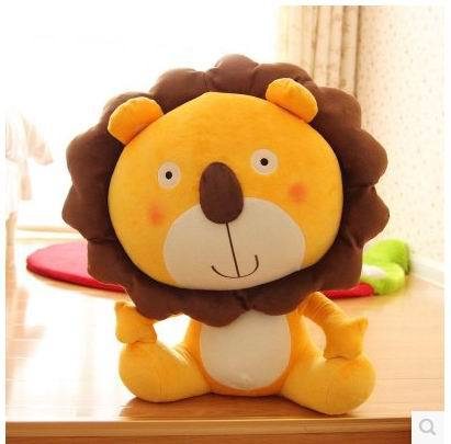 New 40cm.50CM.60CM special anime cartoon smile lover Lion King hold pillow plush animal stuffed toy funny birthday gift 1 pc