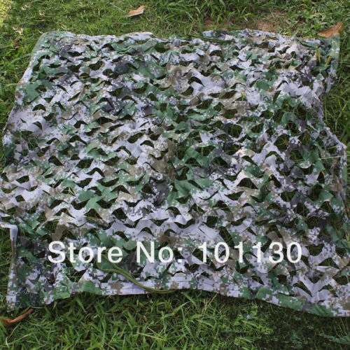 2x2m Military Digital Camouflage Net Hunting Camping jungle camo netting camo cover for hunting home decoration free shipping