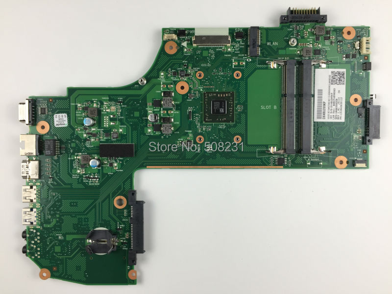 Free shipping, for  Toshiba Satellite C75 C75D-B7260 Laptop Motherboard V000358250, All functions fully Tested !