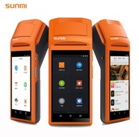 SM V1 5 5 Inch Touch Screen Handheld 3G Andoid Mini Pos Machine With Bluetooth Wifi
