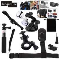Jacqueline for Ion Air pro wifi 2/3 Accessories Kit for Sony Action Cam Contour for Roam 2 3 +2 +Plus Hd 1080p Action Camera