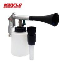 Marflo Tornado чистящий пистолет для салона автомобиля чистящий инструмент Tornador снег пенки Лэнс пистолет Forge Alu тело высокое качество