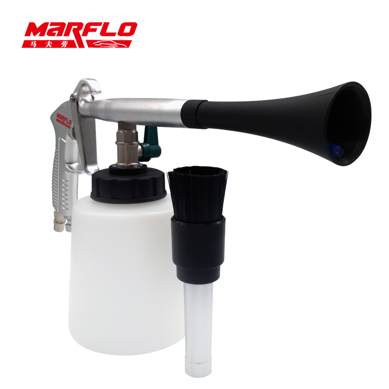 Marflo Tornado Cleaning Gun for Car Interior Cleaning Tool Tornador Snow Foams Lance Gun Forge Alu Body High Quality