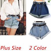 2015 Fashion Women S Jeans Summer High Waist Stretch Denim Shorts Women Slim Korean Casual Women