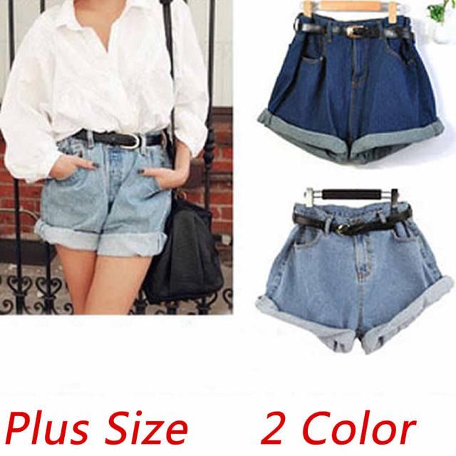 Haute En Stretch Short D'été de Mode Taille 2015 Jean jeans femmes q0Ywzp