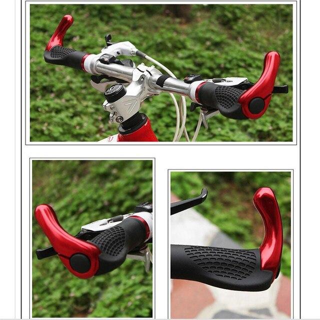 fahrrad griff ergonomische design mountainbike fahrrad lenker grip radfahren schutz road. Black Bedroom Furniture Sets. Home Design Ideas