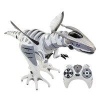 Мир Юрского периода зондирования умный инфракрасный дистанционное управление RC робот механический динозавр robosaur игрушка фигурки героев п