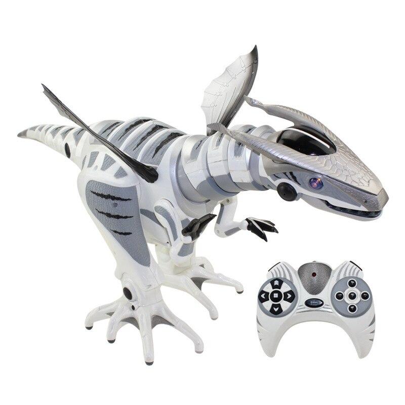 Monde jurassique détection intelligente télécommande infrarouge robot mécanique dinosaure robosaur jouet figurines enfants cadeau