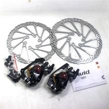 Mtb Bike Disc Brake Caliper AVID BB7 With Rotors