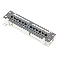 Launched New CAT6 PATCH PANEL 12 PORTS WALL MOUNTING