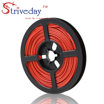 50 meter (164ft) 20AWG hohe temperatur widerstand Flexible silikon draht verzinnten kupfer draht RC netzkabel Elektronische kabel