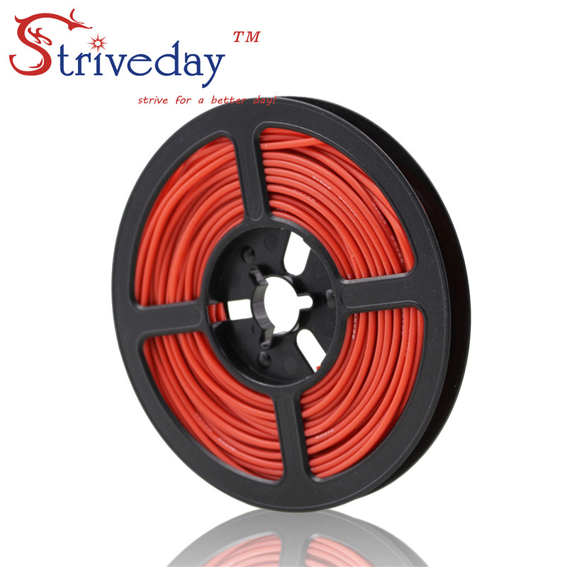 50 meters (164ft) 20AWG high temperature resistance Flexible silicone wire tinned copper wire RC power cord Electronic cable50 meters (164ft) 20AWG high temperature resistance Flexible silicone wire tinned copper wire RC power cord Electronic cable