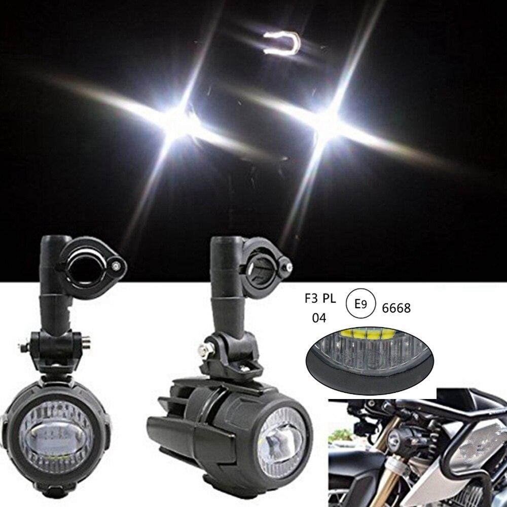 Motorrad LED Nebelscheinwerfer Zusatzscheinwerfer f/ür R1200GS ADV K1600 R1100GS