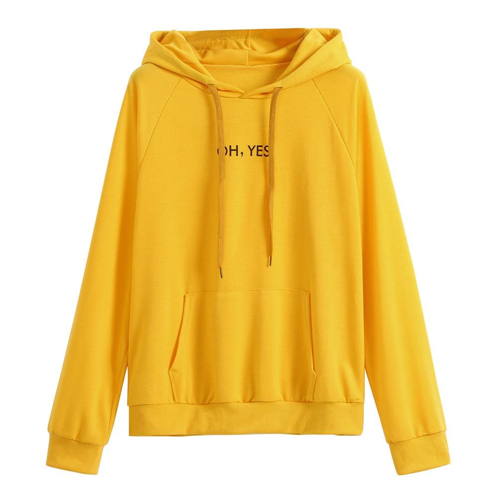 Women Autumn Sweatshirt Oversized Hoodie Long Sleeve Cactus Print Hoodie Sweatshirt Hooded Pullover Hoodie Sudadera Mujer#T2
