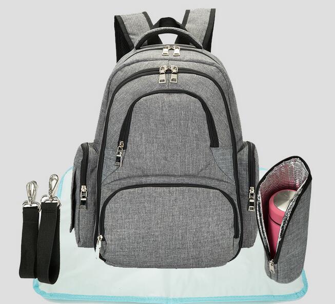 Sac à langer étanche Nappy sac Kits momie maternité voyage sac à dos soins infirmiers sac à main grande capacité bébé soin sac pour poussette