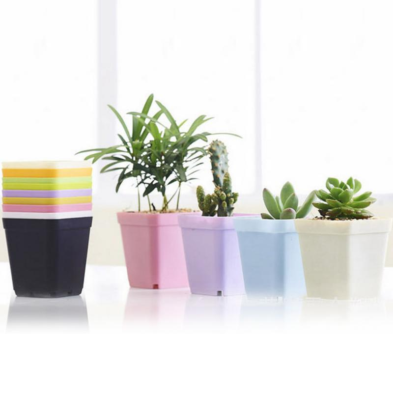 office flower pots. 10pcslot simple plant pots home office flowers potted and green landscape bonsai balcony flower e